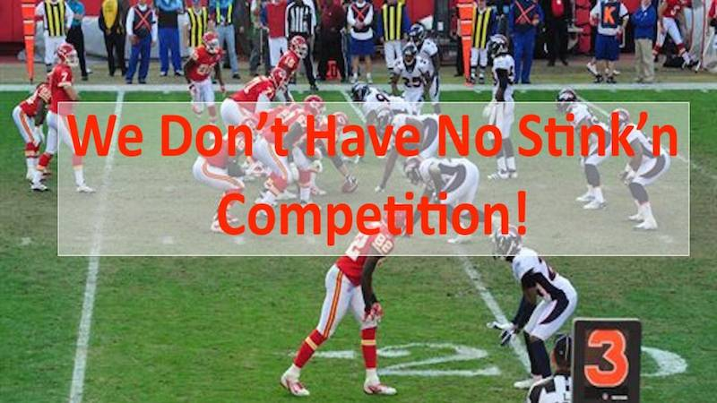 Startup Competitors – Never Say – I Have No Competition