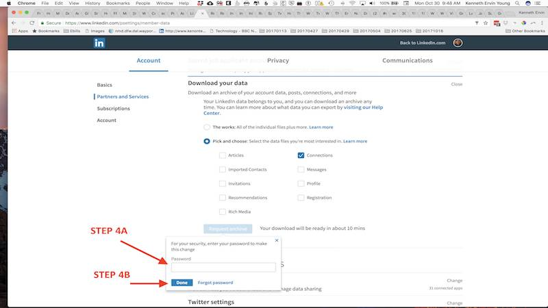Monetize LinkedIn Contacts Step 4