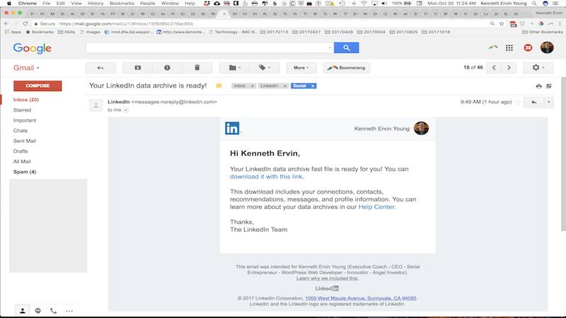 Monetize LinkedIn Contacts Step 7
