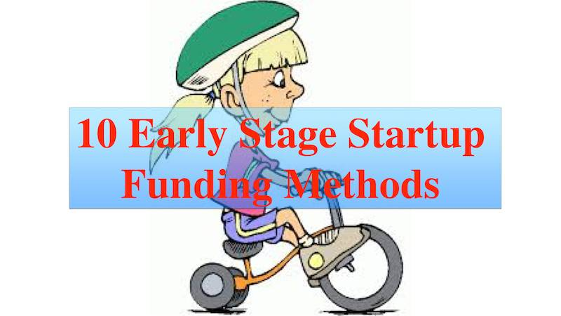 Fund Your Startup – 10 Early Stage Methods