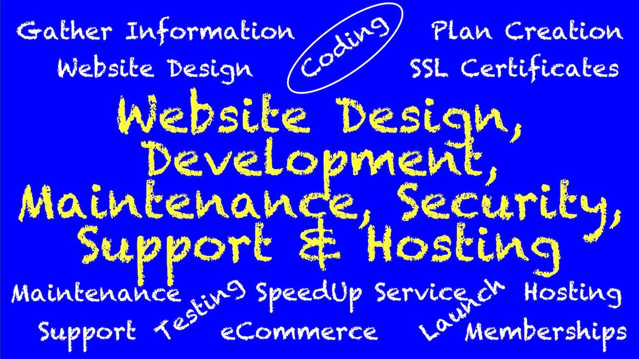 WordPress Website Design Development Maintenance Security Support Hosting Services