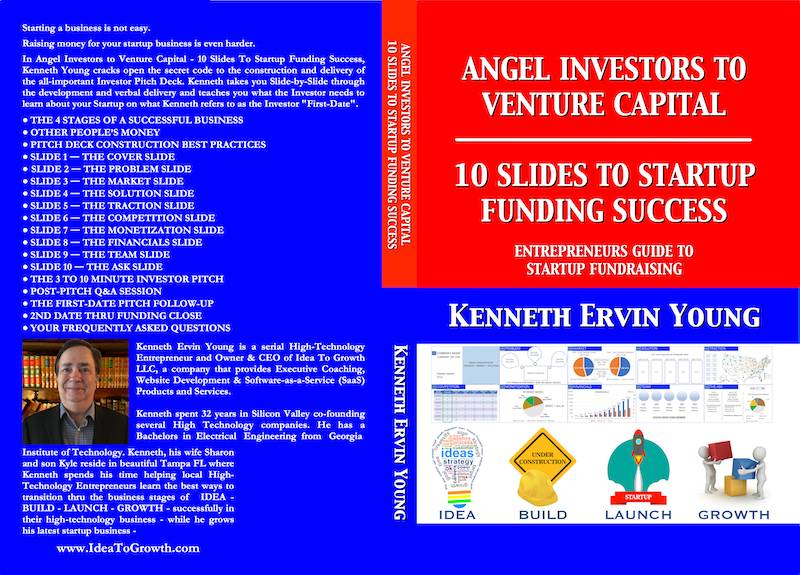 Book Cover Paperback - 10 Slides to Startup Funding Success