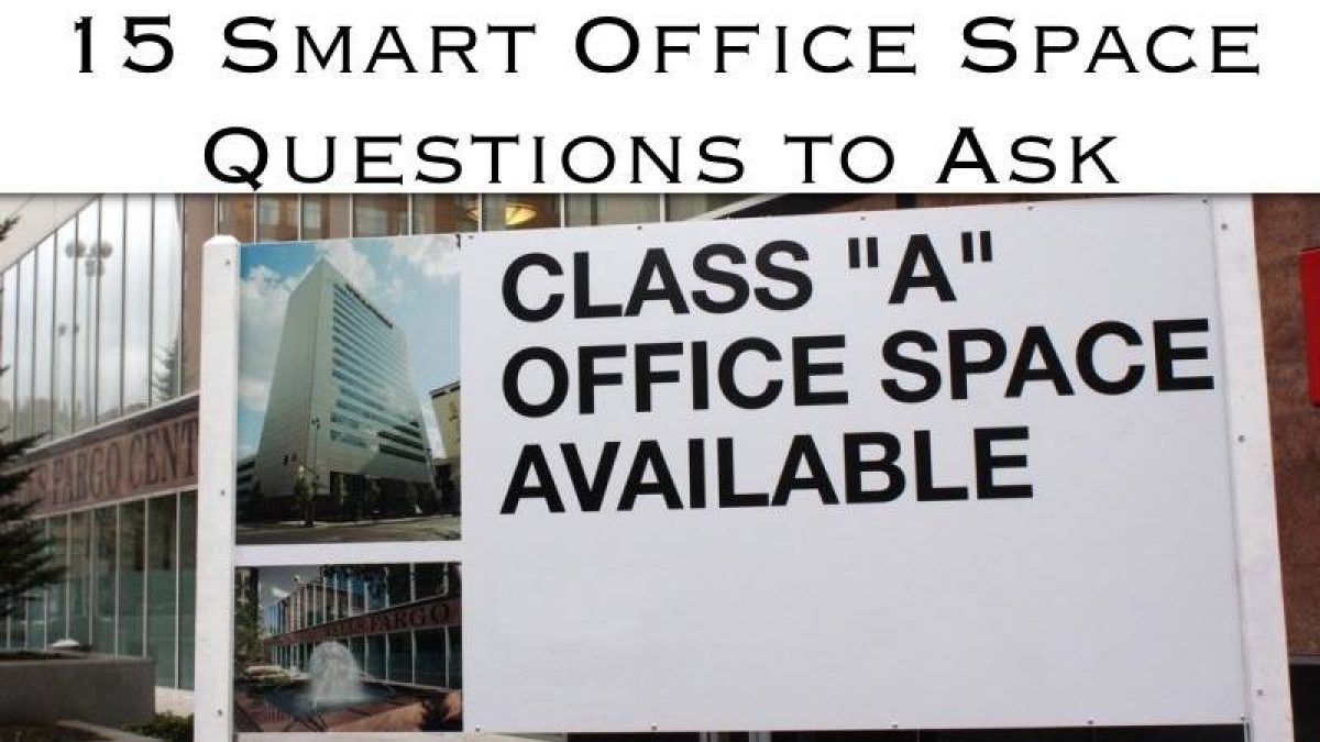 Office Space Questions